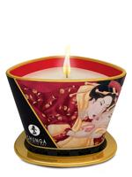 Shunga - Massage-Kerze Romance 170ml - Prickelnder Erdbeerwein