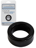 Titanmen - Cock Ring - schwarz
